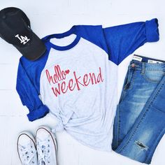 Sweet Ts Design Shoppe — Hello Weekend {USA Edition}