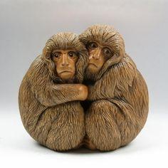 Susan Wraight: Snow Monkeys