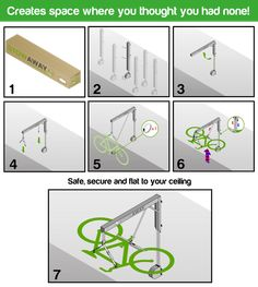 STOWAWAY - Ultimate BIKE STORAGE For Your Home! by Stowaway — Kickstarter