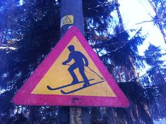 Watch out for crazy Finns on skis!