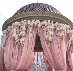 Move over, traditional Mandap; the contemporary Mandap is here to stay! Loving the dusty rose and floral combination. Dream Wedding, Wedding Day, Wedding Lounge, Wedding Scene, Luxury Wedding, Perfect Wedding, Dusty Rose Wedding, Pretty In Pink, Wedding Colors