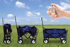 Mac Sports Collapsible Folding Outdoor Utility Wagon, Blue Blue Garden, Diy Garden, Garden Gifts, Outdoor Supplies, Outdoor Projects, Best Gifts For Gardeners, Fishing Cart, Beach Cart, Wheelbarrow Garden