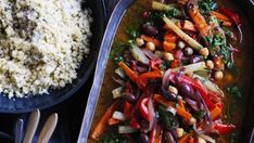 The chermoula gives this lovely stew a spicy lift and paired with cous cous makes a satisfying meal.