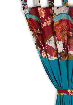 Vintage curtains-Modcloth