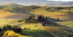 Le Marche, een fenomenaal fraai Caravaggio landschap...