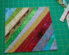 Follow These Simple Instructions to Make a String Quilt: String Quilting Patterns and Ideas
