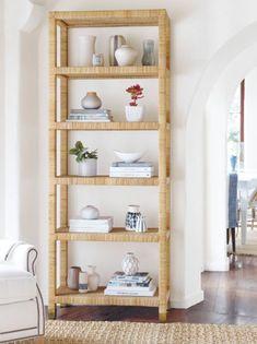 I love the Balboa shelves from Serena & Lily.