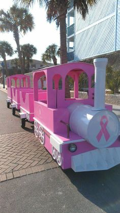 PINK RIBBON TRAIN