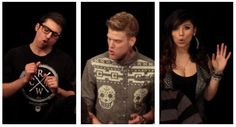 "Trio Dancing to Single Ladies | Pentatonix ""Evolution of Music"" Video {Gifs. Click to see!}"