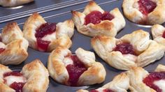 Flaky puff pastry, creamy brie and tart cranberries—that's all you need to pull together these fancy appetizers. We guarantee no one will believe you when you tell them how easy they are to make.