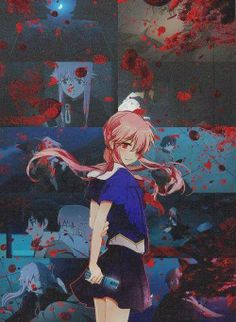 Future Diary (未来日記) - Yuno Gasai / The Second (我妻 由乃)