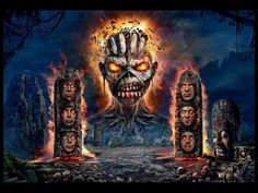 Iron Maiden - The Book Of Souls Wallpaper