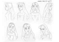 Walt Disney Animation Studios Character Studies, jeff merghart