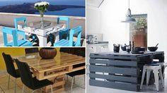 Realizzare tavoli economici in pallet di legno