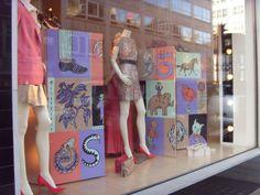 Stella Mccartney window display