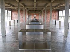 donald judd aluminum by sashafatcat, via Flickr
