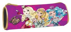 Ever After High - Mattel round pencil case 349-00140: Amazon.co.uk: Toys & Games