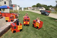The Clayton Column: Fireman Party Make 2 to use as part of an obstacle course