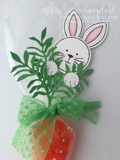 An Easter Bunny Hello! www.suestampfield.com