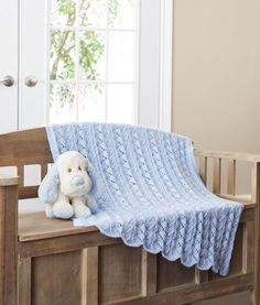 Natures Purest Natures Knits Cable Border Blanket 90cm x 90cm 005