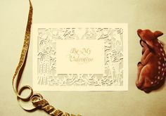 Free paper cutting template to make this amazing frame