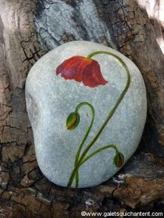 """""""Sometimes our lives have to be completely shaken up, changed, and rearranged to relocate us to the place we're meant to be. Rock Painting Patterns, Rock Painting Ideas Easy, Rock Painting Designs, Stone Crafts, Rock Crafts, Arts And Crafts, Diy Crafts, Pebble Painting, Pebble Art"""