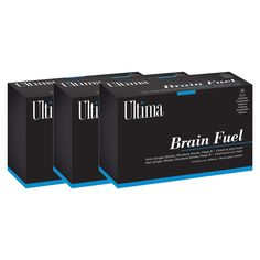 3 x Brain Fuel: Supports and assists with optimal Mental Performance, Concentration Memory Brain, Mindfulness, Products, The Brain, Consciousness, Awareness Ribbons