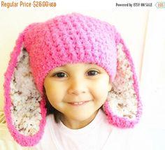 CHRISTMAS SALE 6 to 12m Hot Pink Leopard Baby Bunny Hat, Pink Brown Cream Easter Bunny Ears Baby Girls Hat For Easter Baby Hat Bunny Photo Prop #baby #children #kids #kidsfashion #girlhat #boyhat #babyboy #babygirl #easter #bunny #bunnyhat #babyhat #hat #babamoon #etsy #photoprop #bunnycostume #eastercostume #etsygifts #onsale #sale #deals #pink #leopard