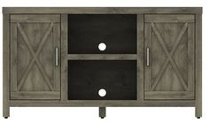 Loon Peak Dodson 53 TV Stand with Optional Fireplace Fireplace Included: No Cool Tv Stands, Loft Furniture, Buffet, Entertaining, Storage, Home Decor, Purse Storage, Buffets, Store
