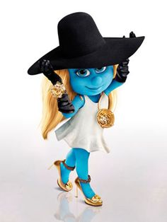 Smurfs Wearing Designer Accessories – Fall Accessories on Smurfs - Harper's BAZAAR