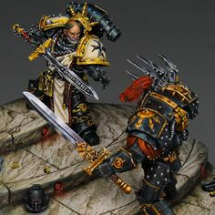 Welcome back to Mini of the Week, where every Friday I will find a miniature from around the web that exemplifies an aspect of our hobby. Warhammer 40k Figures, Warhammer Paint, Warhammer Models, Warhammer 40k Miniatures, Warhammer Fantasy, Warhammer 40000, Imperial Fist, Space Wolves, Game Workshop