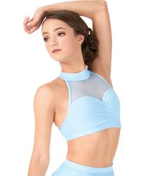 186024f5479 BODY WRAPPERS Adult Sweetheart Halter Dance Bra Top Style No  BWP9027 Pole  Dancing