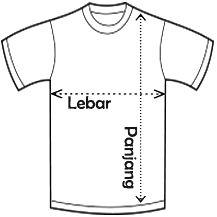 Desain Kaos Satuan - Print Kaos Sendiri - Online Designer Ciptaloka.com