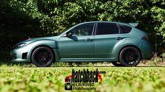 2009 Subaru Impreza WRX STI - myhatchback.com - Side