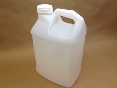 plastic jugs Gallon Rectangular F Style Bottles for Cleaning Solutions, Fertilizers and Degreasers Plastic Jugs, Plastic Canisters, 5 Gallon Water Bottle, Milk Jug Crafts, Spiked Lemonade, Natural Spring Water, Organic Maple Syrup, Liquid Laundry Detergent, Vintage Tupperware