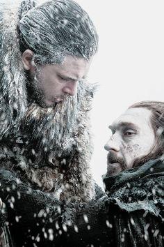 Jon Snow and Uncle Benjen