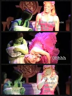 elphaba and glinda relationship problems