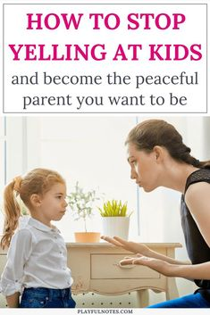 Do you want to stop yelling at kids and become the peaceful parent you always wanted to be? These 5 easy and effective strategies can make a huge difference! | How to stop yelling at your kids #PositiveParenting #ParentingTips