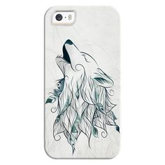 iPhone 6 Plus/6/5/5s/5c Bezel Case - Wolf ($35) ❤ liked on Polyvore featuring accessories, tech accessories, iphone case, apple iphone cases and iphone cover case
