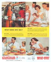 Wear-Ever Photo B. Altman & Co. 1959 Ad Picture