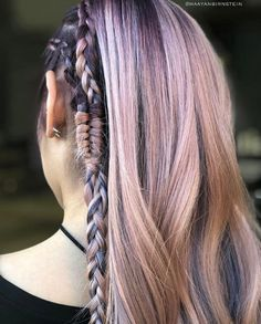 Pink and violet mix by Maryland