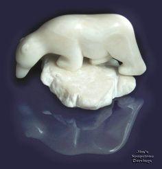 Soapstone carvings-Bears