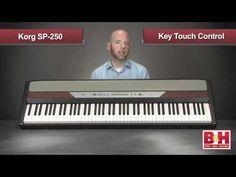 Korg SP-250 piano