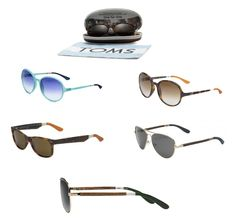 Toms Sunglasses. Love them all.