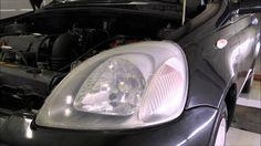 Scheinwerfer Aufbereitung scheitert - Toyota Yaris aus Warendorf