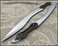 Machete by peterku on DeviantArt Cool Knives, Knives And Swords, Cool Swords, Sword Design, Survival, Throwing Knives, Fantasy Weapons, Fantasy Sword, Arm Armor