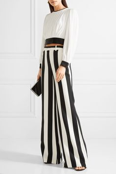 Paulette striped str