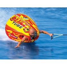 Sumo Tube!!! ... if only Larry still had the boat... bumper sumo tubes?