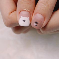 The most beautiful nail designs in of new techniques, styles and images. Fashionable design of long and short nails, nail art photos, fashion ideas nail art design. Trends in nail design with pictures Trendy Nail Art, Cute Nail Art, Cute Nails, Hair And Nails, My Nails, Animal Nail Art, New Nail Designs, Nails Inspiration, Beauty Nails