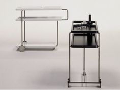 Drinks trolley SERVICEBAR by BD Barcelona Design design Alfredo Häberli